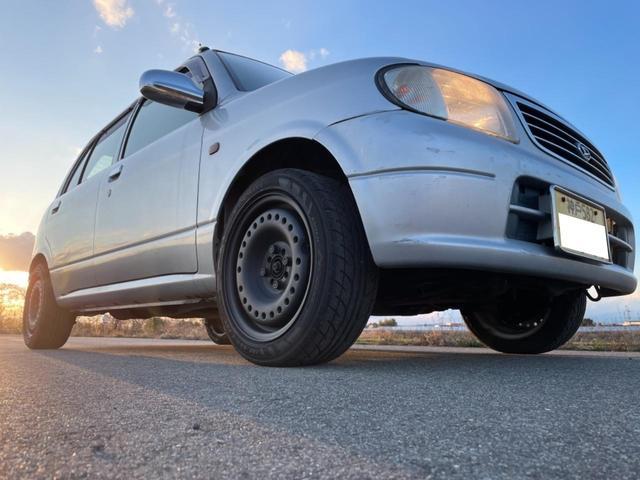 ダイハツ ミラ L ロングストローククランク ボアアップENG換装 スーパースリーパー5MT yellow板番 車検通検確認済み軽量化 タイミングベルト ウォーターポンプ交換済