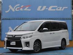 ヴォクシーZS ワンオーナー トヨタ安全装置 純正SDナビ ETC
