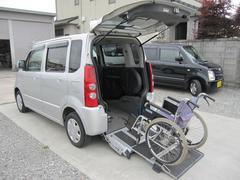 AZワゴン福祉車両 スローパー 車椅子移動車