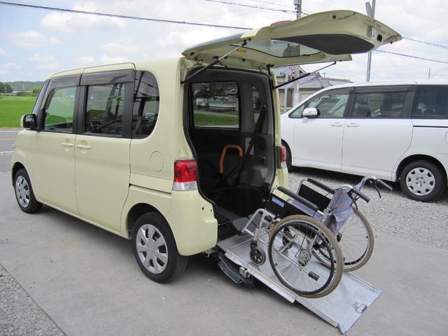 ダイハツ タント スローパー 電動固定 福祉車両