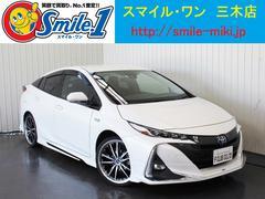 プリウスPHVA 11.6ナビ・TV(地デジ) シートヒーター ETC
