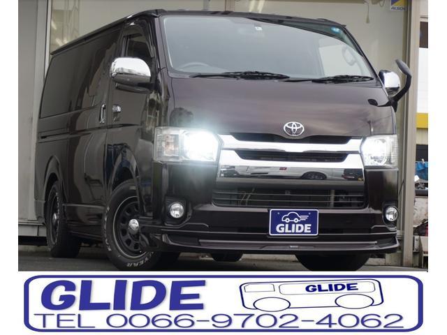 トヨタ ロングスーパーGL DT スマートキー LED ローダウン
