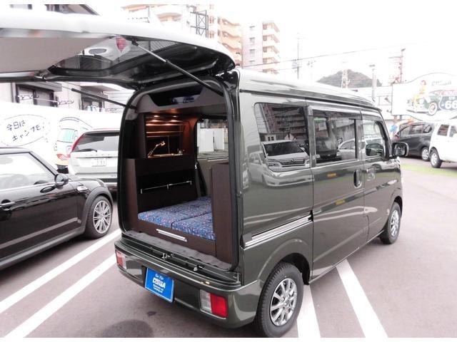 スズキ ジョイン5AGS 軽キャンピングカー 新車装着 基本装備