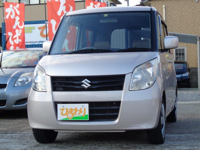 スズキ パレット X 左電動スライドドア ETC タイミングチェーン スマートキー プッシュスタ-ト オートエアコン Wエアバッグ ABS プライバシーガラス ベンチシート