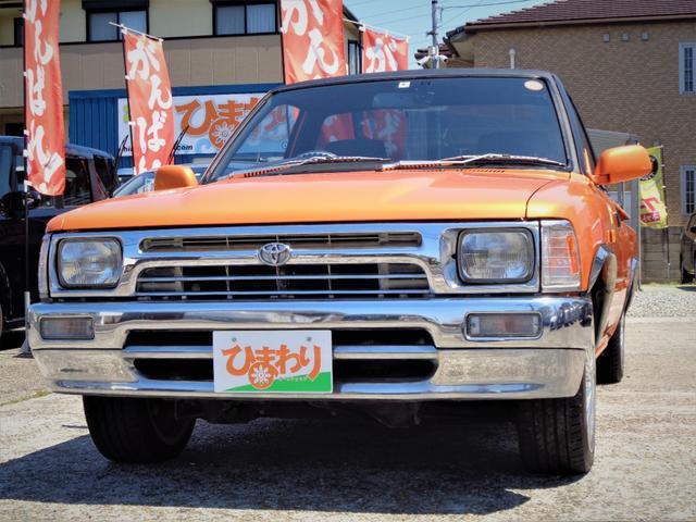 トヨタ ハイラックス  ロング ローダウン HDD テレビ DVD SDカード オーバーフェンダー 社外17インチアルミ 社外ハンドル 社外エアクリーナー 社外マフラー ドライブレコーダーキーレス