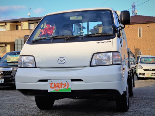 マツダ ボンゴトラック DX ロングボディ 平ボディ キーレス ETC 3方開き ABS Wエアバック エアコン パワーウィンドウ