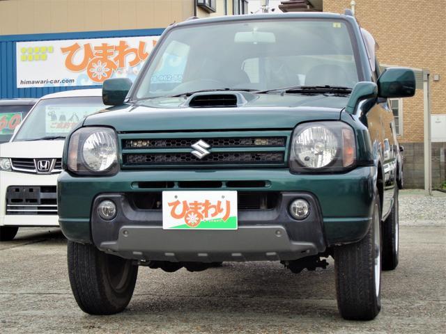 スズキ ランドベンチャー 4WD ターボ 5速ミッション車 キーレス ハーフレザーシート シートヒーター アルミホイール ABS Wエアバック CDデッキ USB AUX