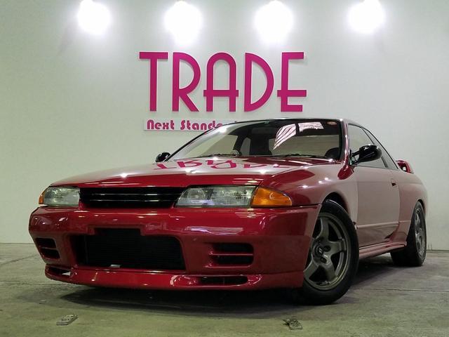 日産 スカイライン GT-R N1ヘッドライト 新品車高調 車検対応社外マフラー 3連メーター 実走行58500km 外装リペイント済み