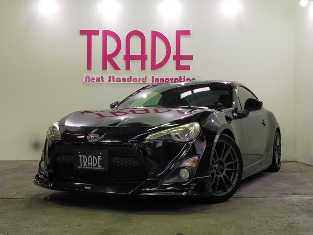 トヨタ GT 6速MT TRDマフラー RAYS17インチAW ナビ フルセグTV バックカメラモデリスタエアロキーパーコーティング