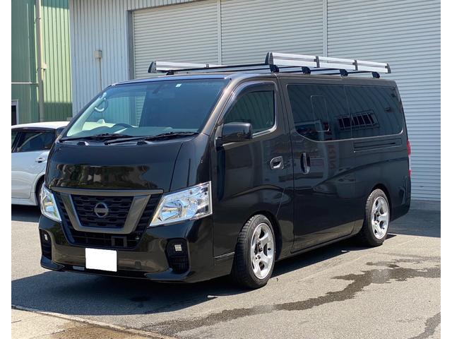日産 NV350キャラバンバン ロングDX 日産大阪限定車 ナビ バックカメラ