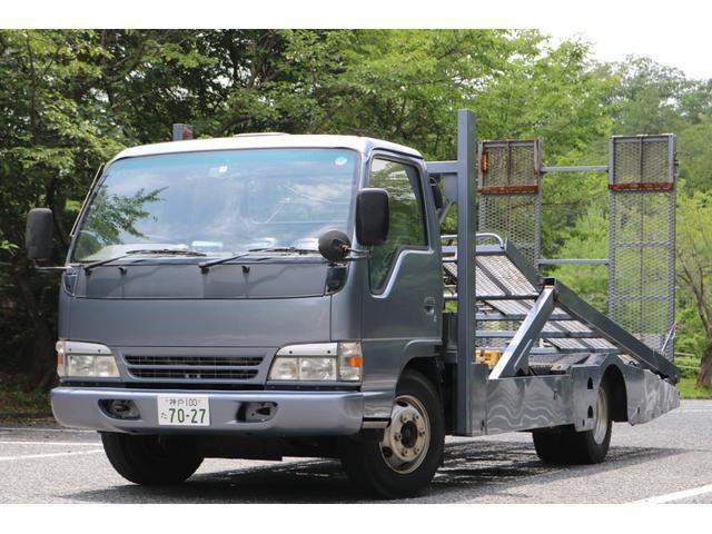 いすゞ 積載車 二台積み 花見台 ラジコン ウィンチ 油圧ゲート