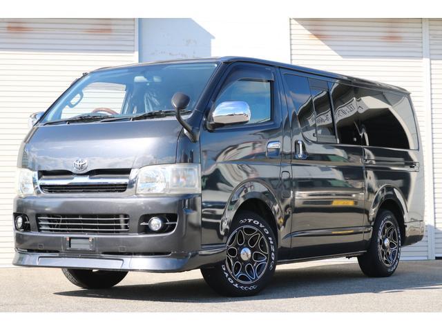 トヨタ  2.0 スーパーGL ベットキット付 タイミングチェーン式 フロントリップスポイラー 16インチアルミホイール ベッドキット キーレス エアコン パワステ パワーウィンドウ 電動格納ミラー ABS