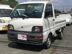 ミニキャブトラック三方開 フロア4MT 軽トラック 平床ボディ ラジオ