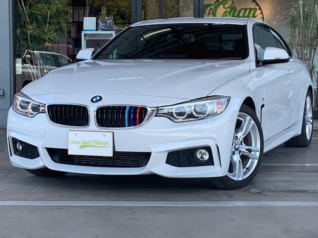 BMW 420iクーペ Mスポーツ サンルーフ インテリジェントセーフティ 純正ナビ Bluetoothオーディオ バックカメラ ミラー型ETC 純正18インチアルミ パドルシフト コーナーセンサー ステアリングリモコン クルコン