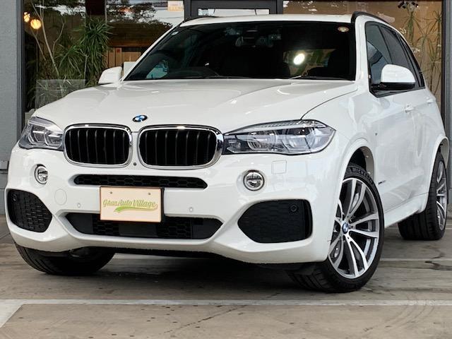 BMW X5 xDrive 35d Mスポーツ Mスポーツ セレクトP ACC LEDヘッドライト パノラマサンルーフ 純正20インチAW パワーバックドア