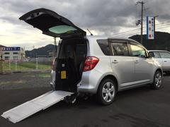 ラクティスX 車いす仕様車助手席側リヤシート付 ナビ付 ワイヤレスキー