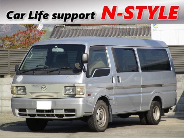 マツダ GLスーパー ディーゼル 9人乗り ワンオーナー ナビ