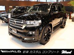 ランドクルーザーAX 新車コンプリートモデルWALD S−LINE 24AW