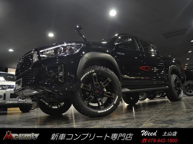 トヨタ Zブラックラリーエディション20AWリフトアップ マフラー
