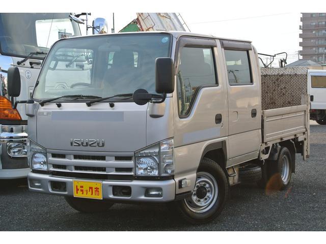 いすゞ Wキャブパワーゲート付 極東製 積載量1450kgディーゼル