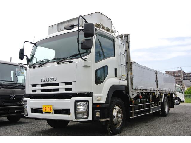 いすゞ アルミブロック 増トン積載量7500キロベットスタンション穴