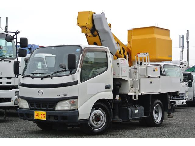 日野 高所作業車 4WD 10m アイチ製SH09A 電工仕様