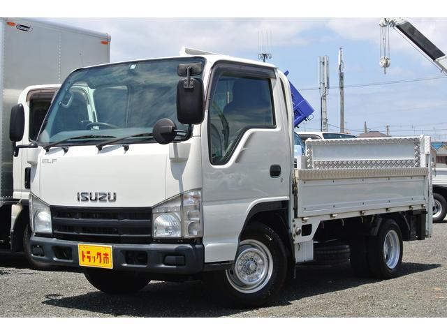 いすゞ 平ボディー 新明和 垂直パワーゲート 積載1.5トン