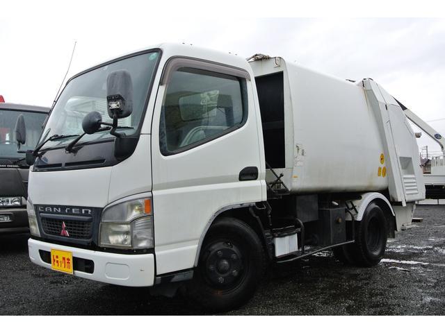 三菱ふそう 塵芥車 プレス パッカー 積載2000kg NOx・PM適合