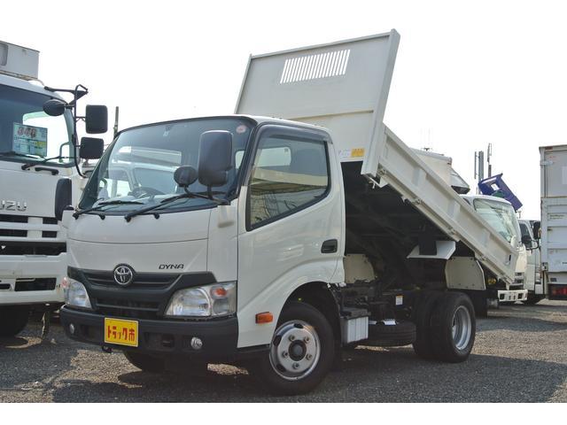 トヨタ ダンプ 積載量2000kg 多目的ダンプ 社外ナビ