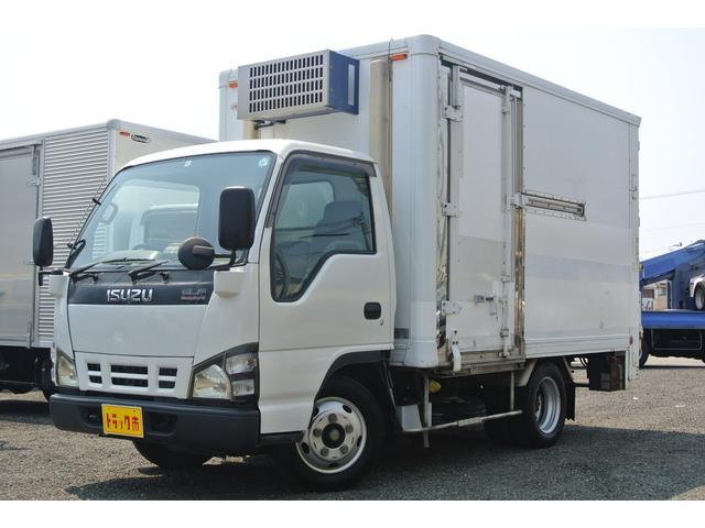 いすゞ 冷凍冷蔵車 中温 積載2000kg パワーゲート左サイドドア
