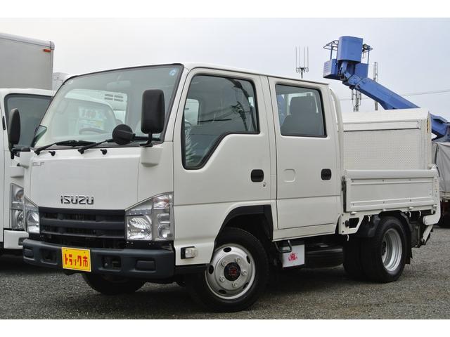 いすゞ Wキャブ パワーゲート付き 最大積載量1400kg 4WD