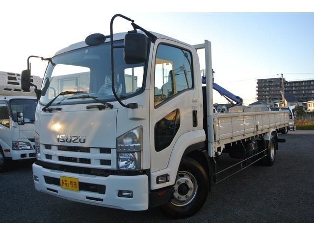 いすゞ 平ボディー 積載量3900kg ディーゼル 6速MT