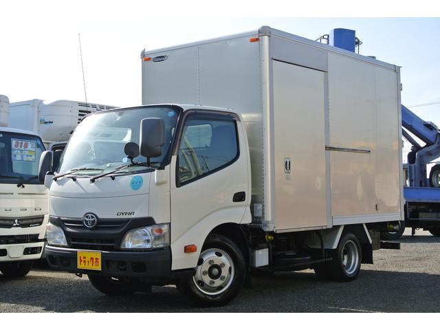 トヨタ アルミバン 積載量2トン 低床 リア観音扉 10尺 ETC
