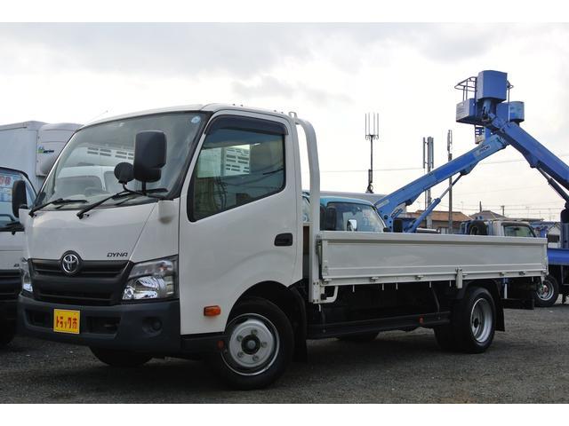 トヨタ 平ボディー 積載量2000kg 全低床 ワイド ロング