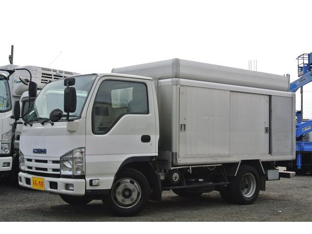 いすゞ エルフトラック ボトルカー 積載量2000kg 左右スライドドア
