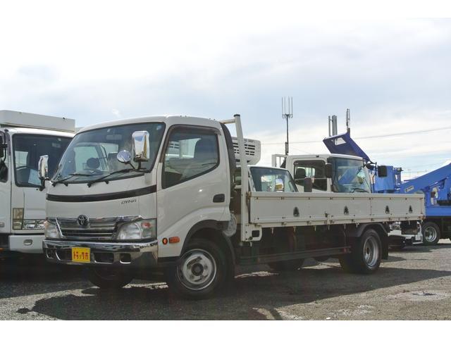 トヨタ ダイナトラック 超ロング 平ボディ 積載2000kg ワイド ロープ穴4対
