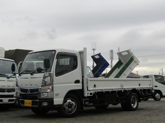 三菱ふそう  平ボディ 積載量3000kg ロング 標準 AT車 排出ガス浄化装置 坂道発進補助装置 ナビTV ETC