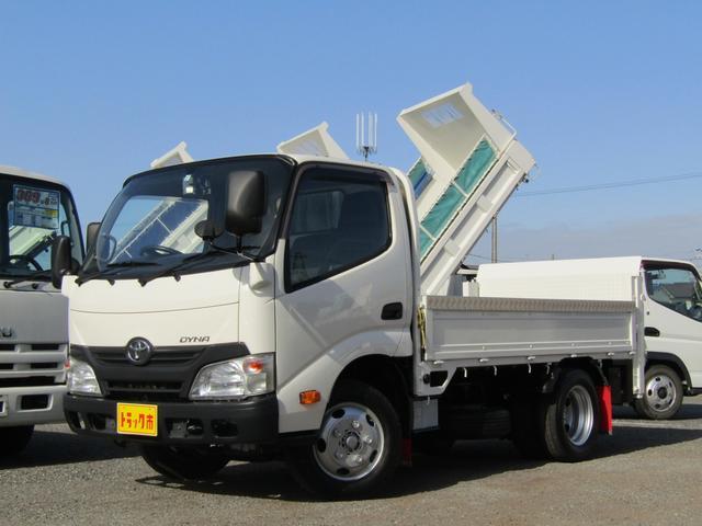 トヨタ ダイナトラック  昇降ゲート付平ボディー 積載量2.95t 10尺 全低床 5速MT ディーゼル