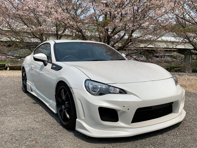 トヨタ GT イングスエアロ テイン車高調 GTウイング 社外アルミ