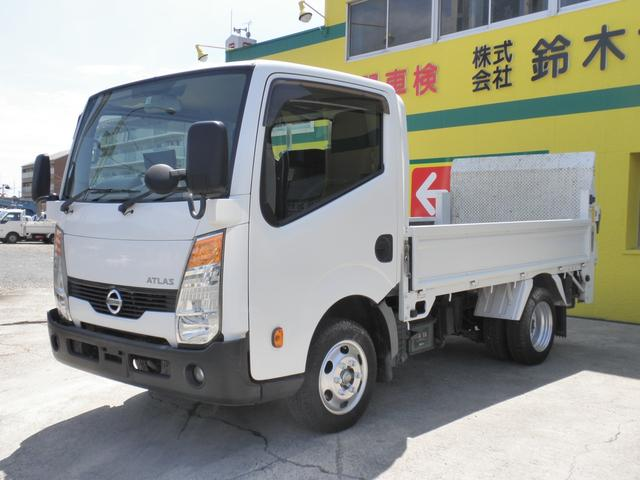 日産 アトラストラック スーパーローDX 積載1.5t 垂直パワーゲート バックアイカメラ キーレス ETC