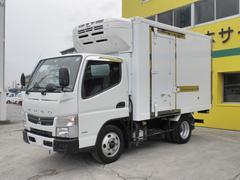 キャンター全低床 トープレ冷蔵冷凍車 −30℃設定 バックアイカメラ ETC キーレス