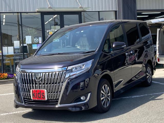トヨタ エスクァイア Xi MU トヨタセーフティセンス 後席モニター ブルートゥース 両側パワースライドドア デジタルインナーミラー 5人乗り