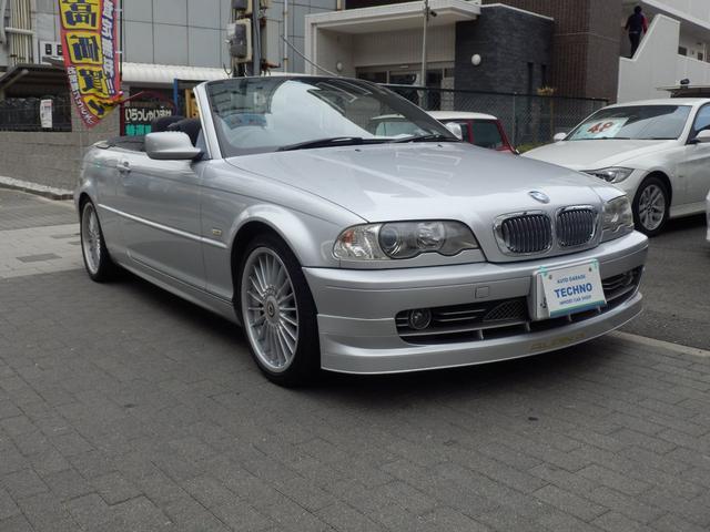 BMW 330Ciカブリオーレ アルピナ仕様レザー