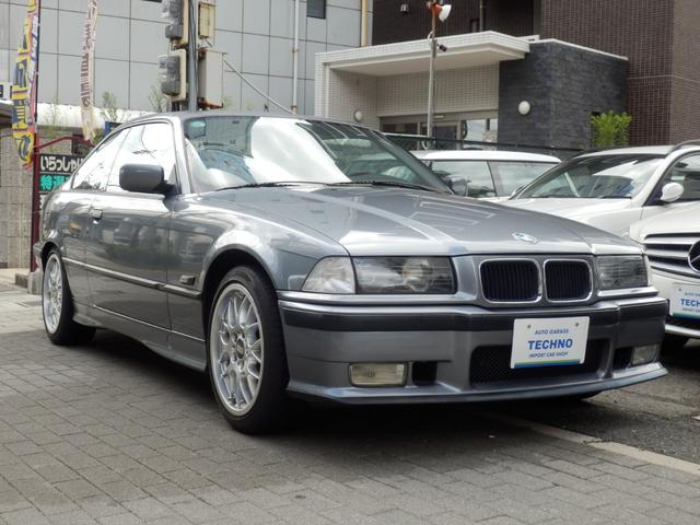 BMW 318is 5MT BBS17AW アーキュレーマフラー