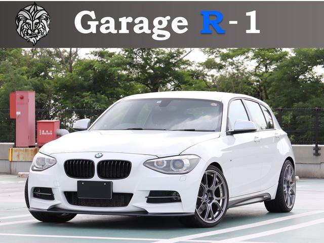 BMW 116i Mスポーツ SSR19インチ REMUSマフラー