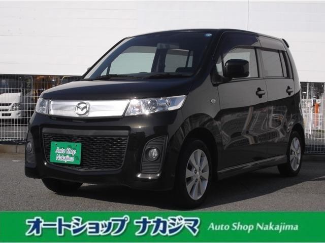 マツダ AZワゴンカスタムスタイル XS フルセグナビ・ETC・スマートキー・自社保証付・きれい!