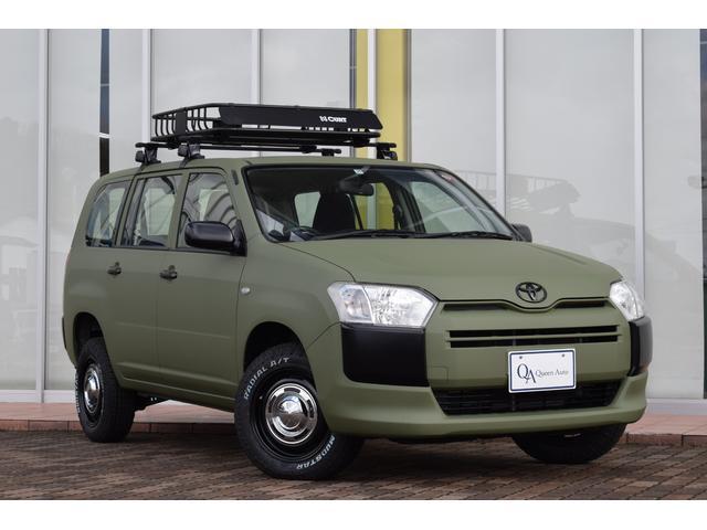 トヨタ UL オリジナルペイント リフトアップ ルーフラック ホワイトレタータイヤ 純正ラジオ キーレスキー 社外ホイール
