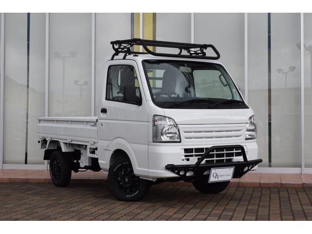 三菱 M オリジナルカスタム グリルガード ハードカーゴ ルーフラック ガード 社外アルミホイール ホワイトレタータイヤ MT 4WD