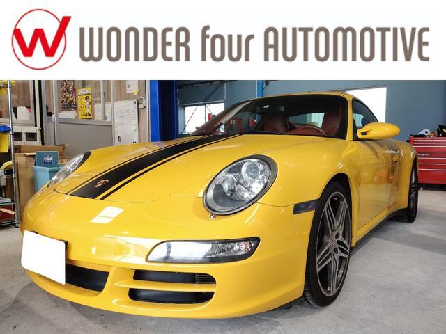 ポルシェ 911 911カレラ4 レーシングストライプ テラコッタオールレザー スポーツクロノパッケージ ETC バックカメラ