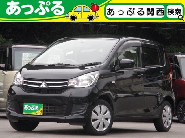 三菱 eKワゴン E 社外SDナビ ワンセグ/CD/ラジオ ETC シートヒーター キーレスキー ハロゲンヘッドライト 禁煙車